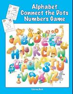 Alphabet Connect the Dots Numbers Game Coloring Book
