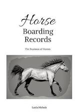 Horse Boarding Records
