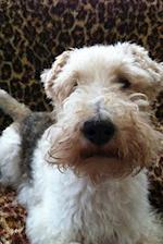 Totally Adorable Fox Terrier Portrait Dog Journal