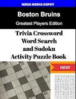 Boston Bruins Trivia Crossword, Wordsearch and Sudoku Activity Puzzle Book