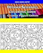 Ottawa Senators Coloring Book Greatest Players Edition