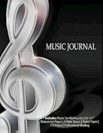 Music Journal-7 Songwriting Notebook