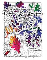 Un Libro Para Colorear - Palabra de Corazones