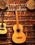 Blank Guitar Tablature