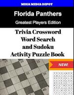 Florida Panthers Trivia Crossword, Wordsearch and Sudoku Activity Puzzle Book