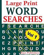 Large Print Word Searches Vol 1