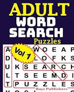 Adult Word Search Puzzles Vol 1