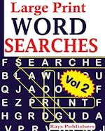 Large Print Word Searches Vol 2