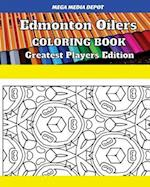 Edmonton Oilers Coloring Book Greatest Players Edition