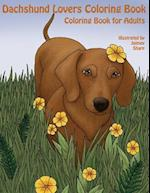 The Dachshund Lovers Coloring Book