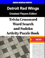 Detroit Red Wings Trivia Crossword, Wordsearch and Sudoku Activity Puzzle Book