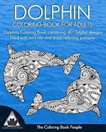 Dolphin Coloring Book for Adults
