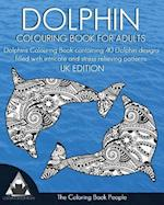 Dolphin Colouring Book for Adults
