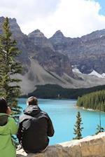 Beautiful Blue Lake and Glacier Moraine Aosta Italy Journal