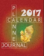 Planner Calendar Journal 2017