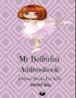 My Ballerina Addressbook