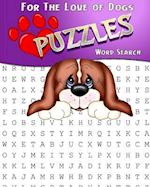 For the Love of Dogs Word Search Puzzles