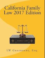 California Family Law 2017 Edition