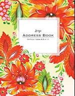 Large Address Book - Office/Desk 8.5 X 11