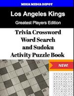 Los Angeles Kings Trivia Crossword, Wordsearch and Sudoku Activity Puzzle Book