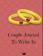 Couple Journal to Write in