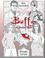Buffy the Vampire Slayer Adult Coloring Book