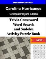 Carolina Hurricanes Trivia Crossword, Wordsearch and Sudoku Activity Puzzle Book