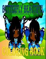 Butterfly Beautiful Coloring Book