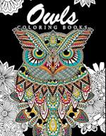 Owls Coloring Books