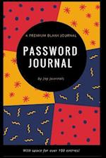 Blank Password Journal