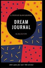 Blank Dream Journal