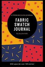 Blank Fabric Swatch Journal