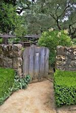 A Charming Weathered Wooden Garden Gate Journal