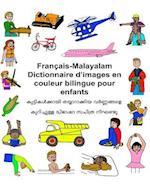 Francais-Malayalam Dictionnaire D'Images En Couleur Bilingue Pour Enfants
