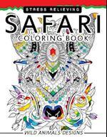 Safari Coloring Books