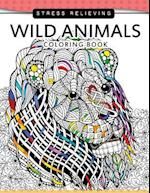 Wild Animals Coloring Books