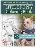 Little Puppy Coloring Book Vol.1 Coloring Books for Grown-Ups for Relaxation 40