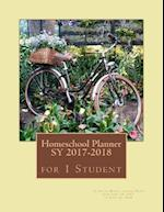 Homeschool Planner Sy 2017-2018 for 1 Student