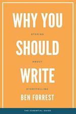 Why You Should Write