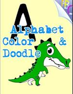 Alphabet Color & Doodle