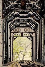 Railroad Bridge Iron Tunnel Travel Journal