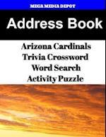 Address Book Arizona Cardinals Trivia Crossword & Wordsearch Activity Puzzle