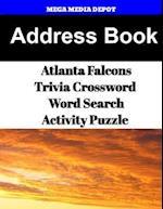 Address Book Atlanta Falcons Trivia Crossword & Wordsearch Activity Puzzle