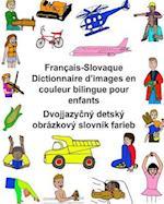 Francais-Slovaque Dictionnaire D'Images En Couleur Bilingue Pour Enfants