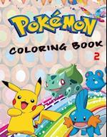 Pokemon Coloring Book 2