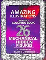 Amazing Illustrations-Mechanical Hidden Figures