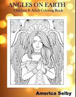 Angles on Earth Children & Adult Coloring Book