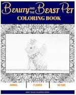 Beauty and the Beast Pet Coloring Book
