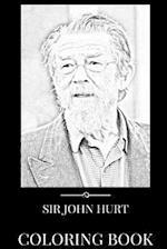 Sir John Hurt Coloring Book