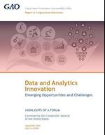Data and Analytics Innovation Emerging Opportunities and Challenges